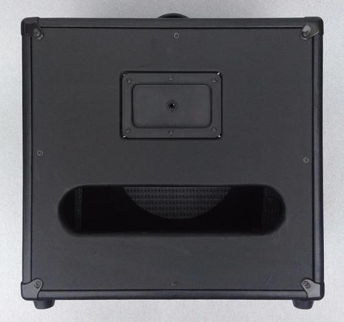 gabinete 1x12 completo 120w rms jaovox
