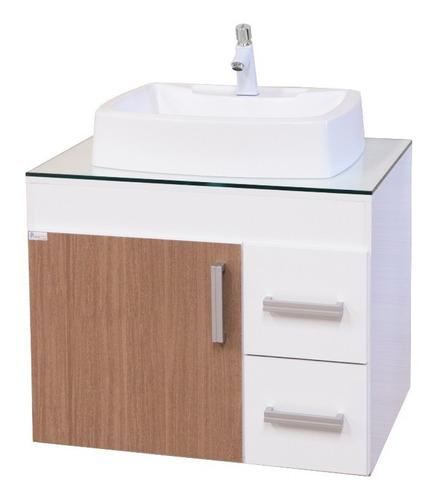 gabinete / armário banheiro veneza 65 sem espelheira
