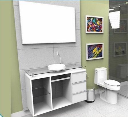 gabinete arm rio para banheiro lisboa 1 metro alto
