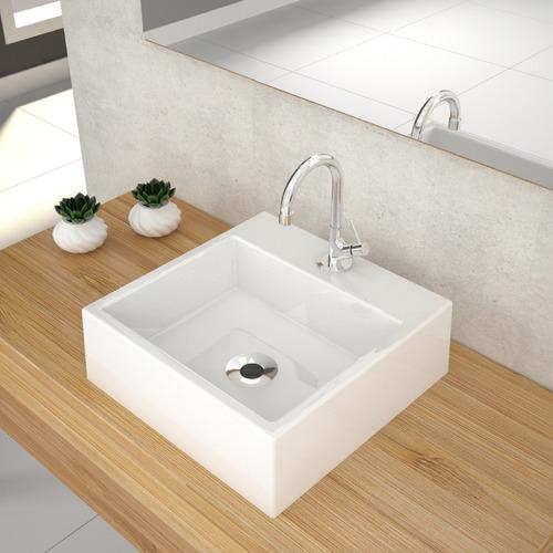 gabinete armário p/banheiro +cuba q355+espelheira legno 650*