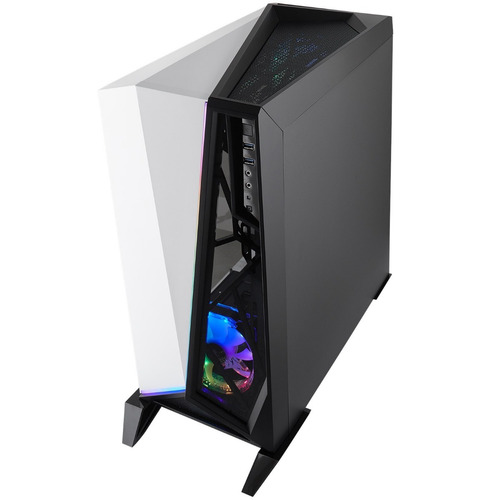 gabinete atx corsair carbide series spec-omega rgb w