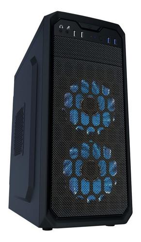 gabinete atx / matx yeyian stahl 900 negro sin fuente usb