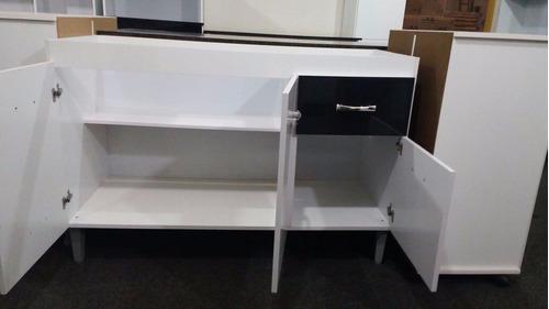 gabinete balcão de pia barato 1,20 m de largura sem pia