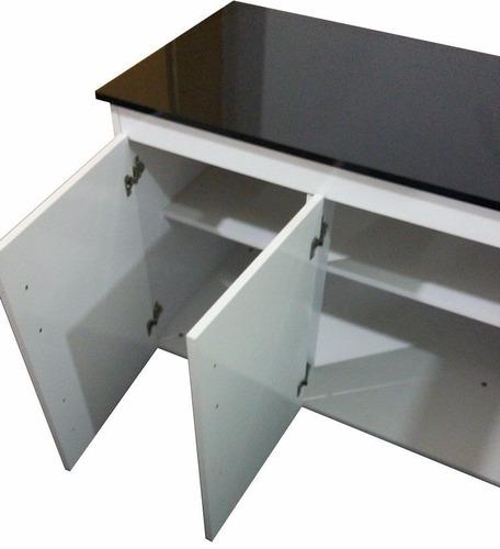 gabinete balcão para cuba pia 3 portas 3 gaveta 1,50 sem pia