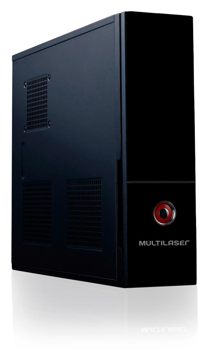 Gabinete Computador Slim + Fonte Atx 200w Multilaser