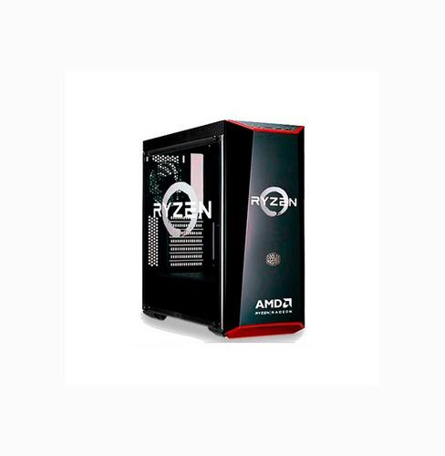 gabinete coolermaster masterbox lite 5 amd ryzen edition