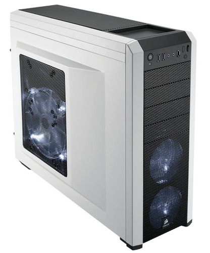 gabinete corsair carbide 500r white - smal lan