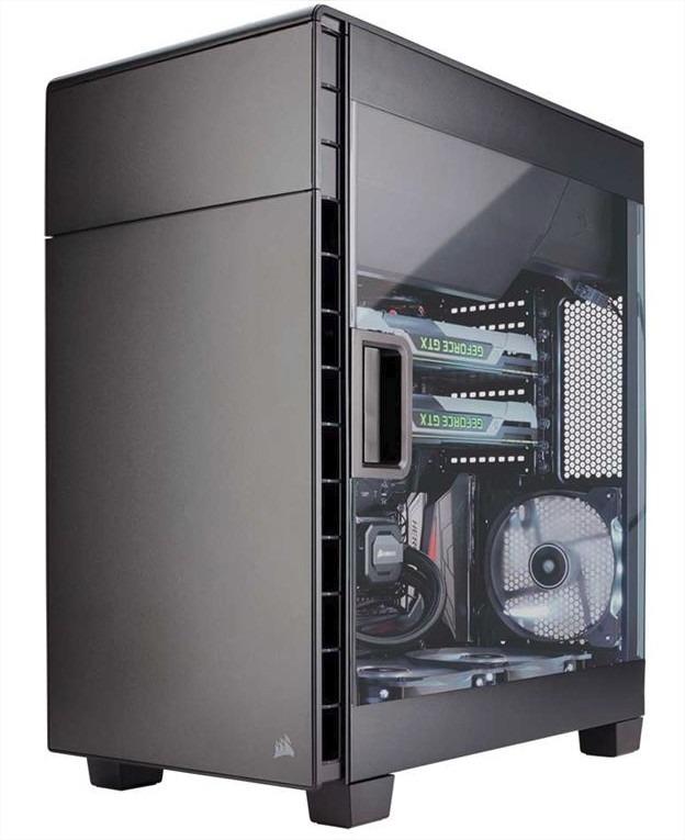 Корпус Corsair Carbide Series SPEC-ALPHA White-Red Window w/o PSU