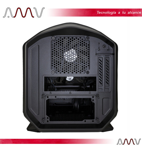 gabinete corsair graphite 380t portable mini itx amv