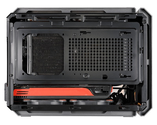 gabinete cougar qbx usb 3.0 fan 90mm mini itx