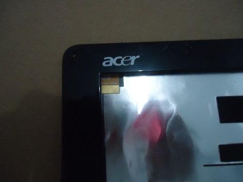 gabinete da tela p/ acer aspire one zg5 séries. aproveite.