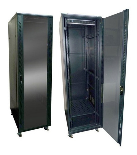 gabinete de 38 ur (ru) 6 pies 1.80 x 0.62 x 0.80 mts acero