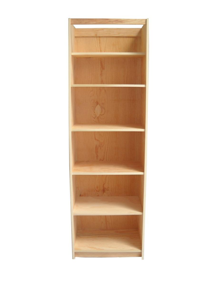Gabinete de 6 entrepa os en pino para closet 1 for Disenos de zapateras para closet