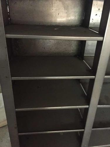 gabinete de acero inoxidable