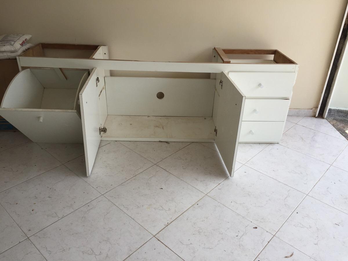 Gabinete De Banheiro  R$ 400,00 em Mercado Livre -> Gabinete De Banheiro Venda