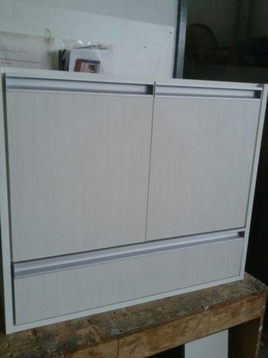 Gabinete de banheiro em mdf r 550 00 em mercado livre for Gabinetes de cocina en mdf