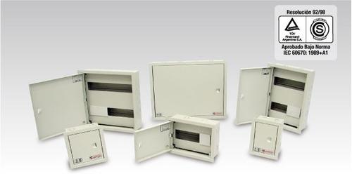 gabinete de chapa ge 400x300x210 ip65 gabexel