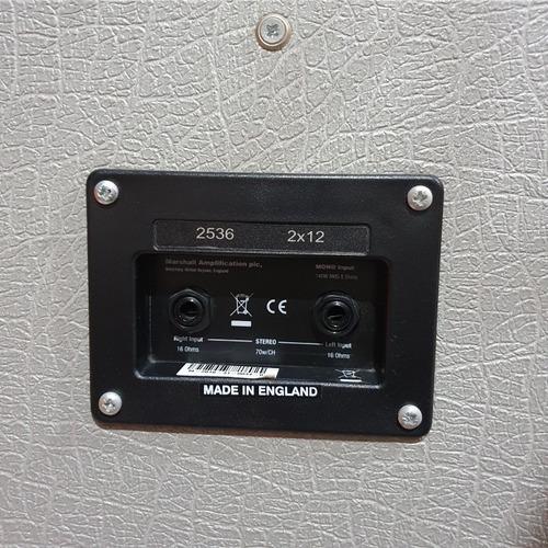 gabinete de extensión marshall silver jubilee 2x12 140w