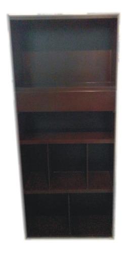 gabinete de madera tipo librero