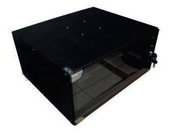 gabinete de pared 4ru 0.24 x 0.28 x 0.31 acero desarmable