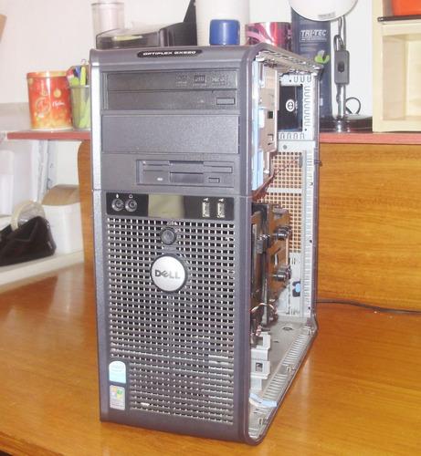 gabinete  dell optiplex gx 620 / apenas o gabinete dell