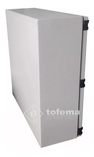 gabinete estanco metálico 300x300x150 99153 genrod - tofema