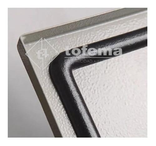 gabinete estanco metálico 600x750x100 - genrod 9962- tofema