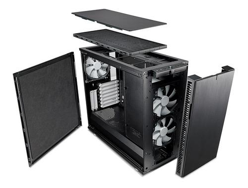 gabinete fractal design define r6 silencioso calidad única !