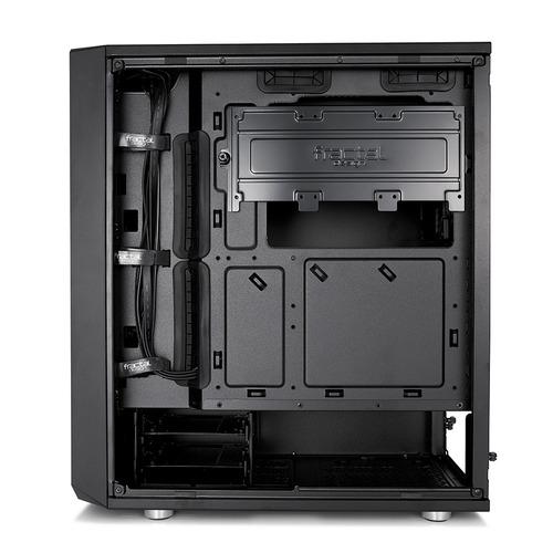 gabinete fractal design meshify c silencioso filtros calidad