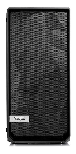 gabinete fractal design meshify c vidrio templado claro