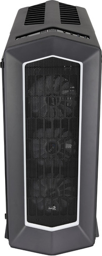 gabinete gamer aerocool project 7 p7-c1 pro negro, atx, rgb