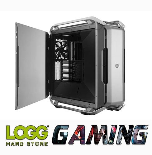 gabinete gamer cooler master cosmos c700p rgb 12 cuotas