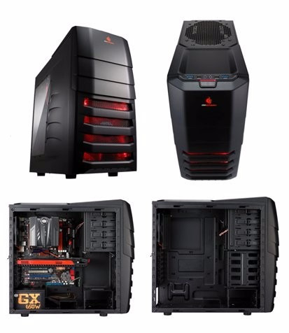 gabinete gamer cooler master storm enforcer usb 3.0 htg