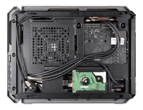 gabinete gamer cougar qbx mini itx c/ 01 fan - com garantia