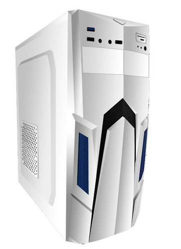 gabinete gamer eagle warrior alpha blanco usb 3.0 audio hd