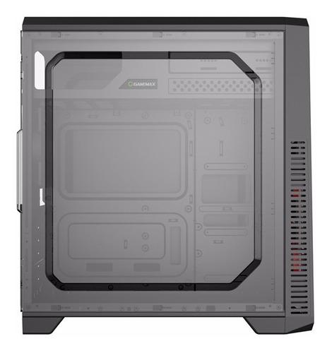 gabinete gamer gamemax eco g561-f c vermelho - 12x sem juros