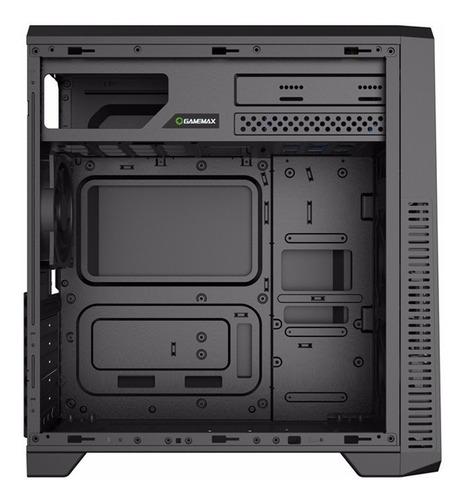 gabinete gamer gamemax eco g561-f c vermelho - com garanitia