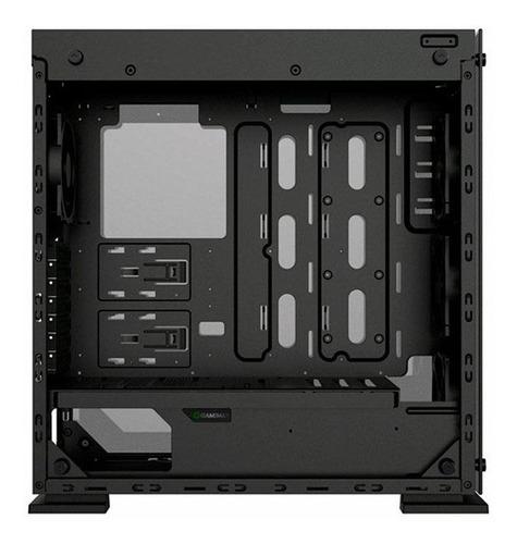 gabinete gamer gamemax onyx ii rgb m910 todo de vidro promo
