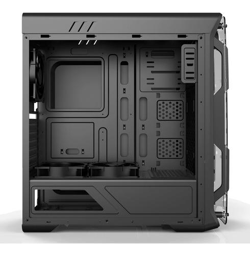 gabinete gamer gamemax optical g510 com led azul - novo