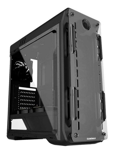 gabinete gamer gamemax optical g510 com led branco - lacrado