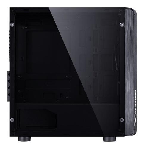 gabinete gamer vx spectrum led rgb 7 cores 12x sem juros