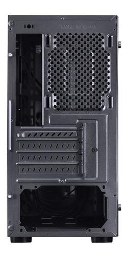 gabinete gamer vx spectrum led rgb 7 cores com garantia