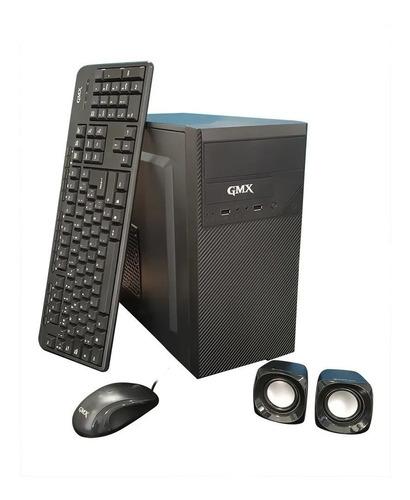 gabinete gmx-115 kit fuente 500w teclado - mouse -parlantes