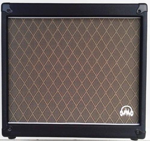 gabinete guitarra 1x12 preto 44x47x26 cm sem falante