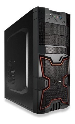 gabinete halion x-men 3313 350w p8 1cooler 2 usb pacishop