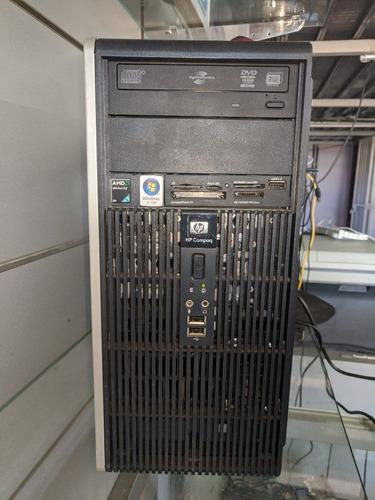gabinete hp compaq presario athlon dual core