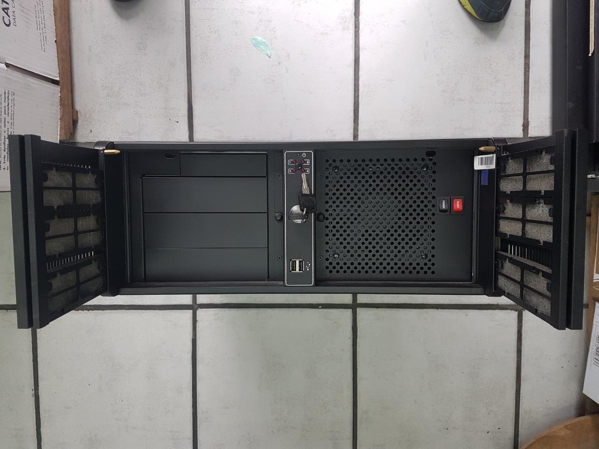 Gabinete Industrial 19¨rack 4u Preto Nk211 Special