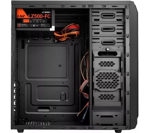 gabinete kit pc gamer sentey g28 power 500w teclado mouse