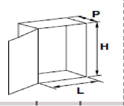gabinete metalico legrand 500 x 400 x 200 atlantic