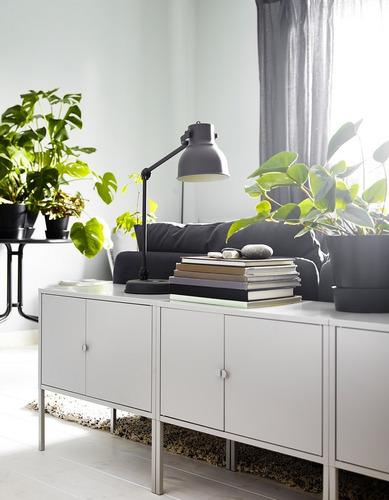 gabinete metálico minimalista ikea lixhult 1 pieza